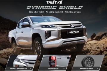Lộ thông số kỹ thuật của Mitsubishi Triton 2019 trước ngày ra mắt